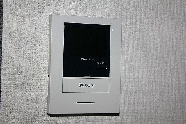 TVモニター付インターホンで来訪者の対応も安心