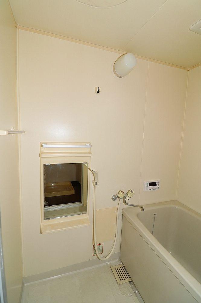 浴室鏡も付いています
