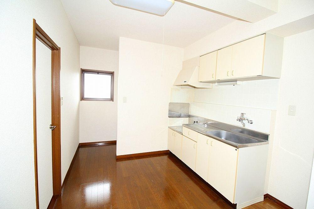 二人でお料理も出来る広さのキッチン