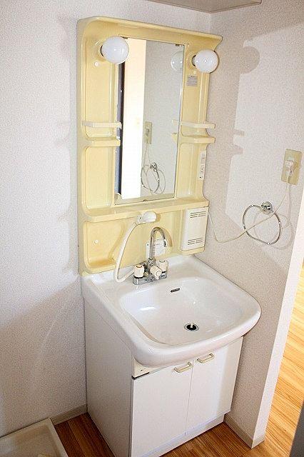脱衣所 シャワー付き洗面台