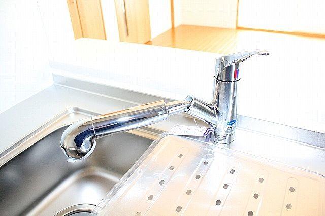 シャワー付き水栓