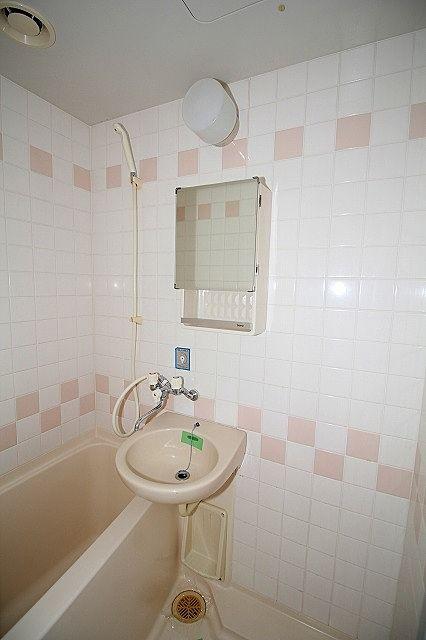 洗面ボール、鏡有り キッチンで歯磨き不要