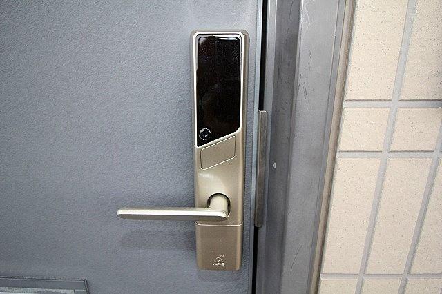 デジタルキーで鍵の持ち運び不要 暗証番号で開錠!