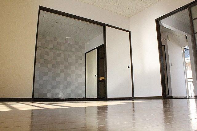 和室と一体利用で広く利用もできます