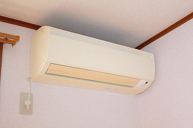 エアコン 快適な空間を創るエアコンを標準装備