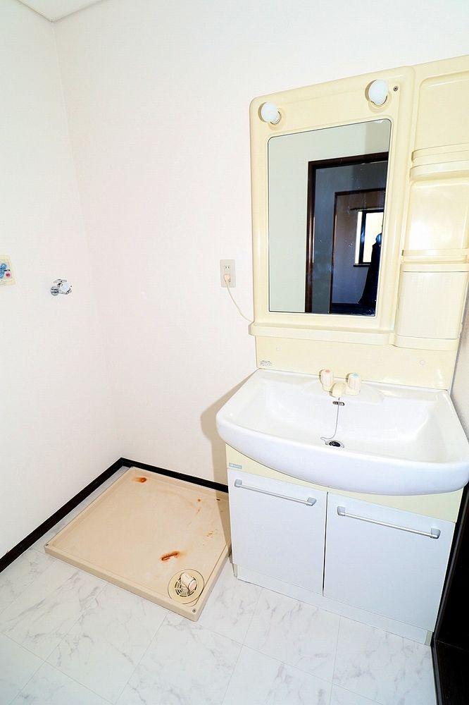 独立脱衣所、洗面所 洗濯機置き場