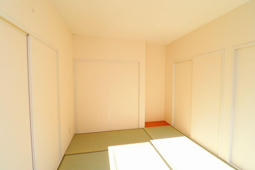 和室も日当たり良好