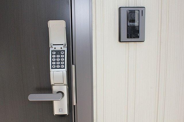 デジタルキー対応 暗証番号で開錠なので鍵不要