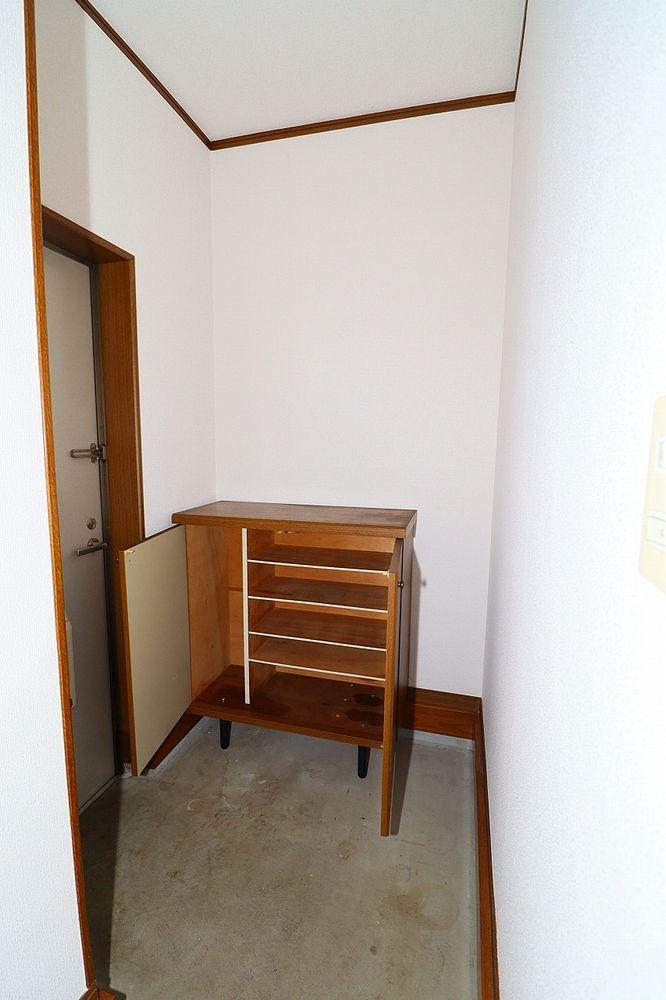 下駄箱で片付いた玄関をキープ!