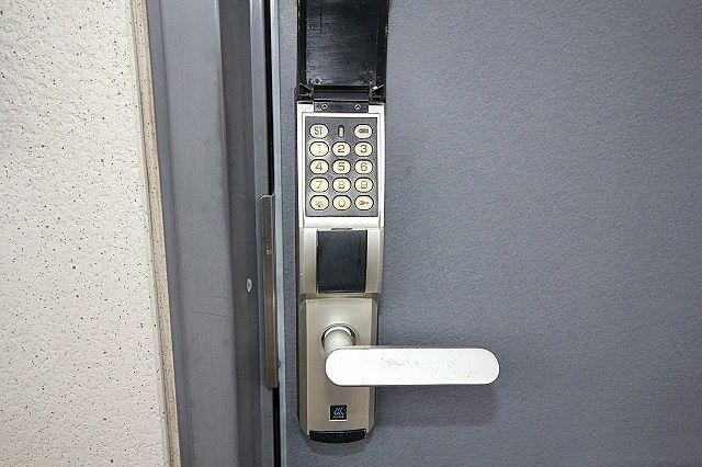 デジタルキー対応  鍵を持たず、暗証番号で開錠!