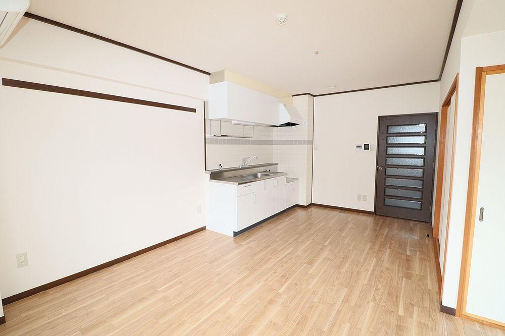 レイアウトでキッチンの広さも決められます