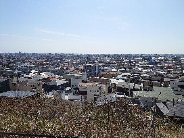 仙台市太白区 三神峯公園からの眺望